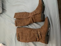 Brown suede knee high boots  Avondale, 85323