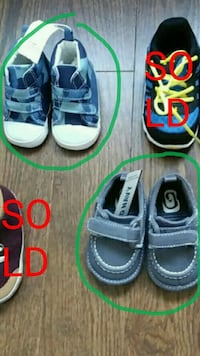 BNWT 3 MONTHS baby shoes Pickering, L1X 1P5