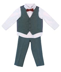 Boys 4 Pc Dressy Pant Set, 3T