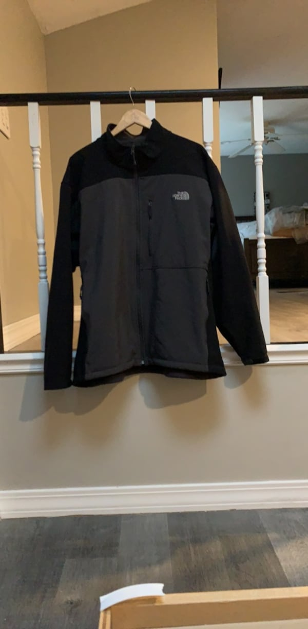Men's North Face Jacket in Black and Grey - 3XL Jacket 9bd28e0a-3dbd-47d2-b421-4fa9c2a1619b