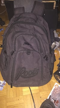 Gray Roots backpack
