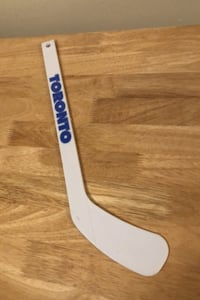 Mini novelty hockey stick