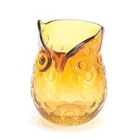 yellow tinted glass owl pitcher Jacksonville, 32256