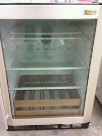 Stainless glass wine cooler