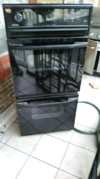 Kenmore double oven electric stove.. still new, ne