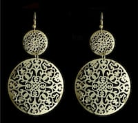 Round Hollow Drop Earings Ahmedabad, 380013