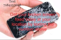 iPhone screen repair+ at your place home or work Brooklyn