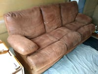 Light Brown Dual Reclining Couch Colorado Springs, 80916