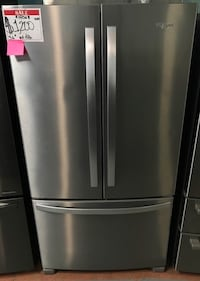 New whirlpool stainless steel French door refrigerator Owings Mills, 21117