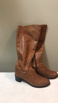 Italian leather boots, size 8,5 Toronto, M5M 4K9