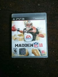 Madden NFL 12 PS3 game case Washington, 20020