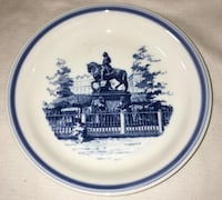 Antique Collectable Art Nouveau Denmark Plate By Christian-V 1646-1699 Vienna
