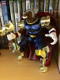 Beta Ray Bill Marvel Comics character , posable with cape & hammer accessories / Visit for more