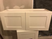 White wooden 2-door cabinet Baltimore