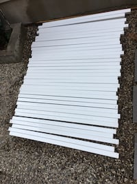 36 railing pieces for outdoor good condition  London, N5W 1E8
