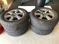 (4) Ford F-150 Wheels and Tires Fresno, 93727