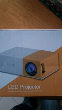 Mini projector never opened