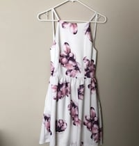 white and purple floral spaghetti strap dress Las Vegas, 89142