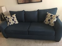 black fabric 2-seat sofa Alexandria, 22303
