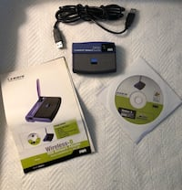 Linksys Wireless-B USB Network Adapter Waldorf, 20601