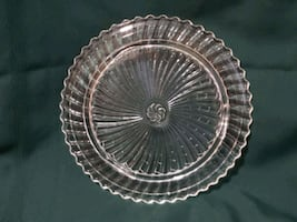 Glass Cake or Pie Plate