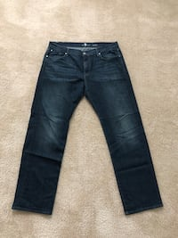 Men's 7 Seven Mankind Jeans Size 40/32 - Fresh!!! $55 or Best Offer 54 km