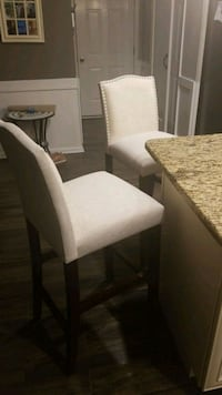 white and brown wooden dining table Hughesville