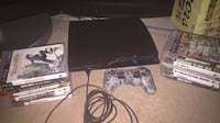 PS3 for sale with 15 games Barrie, L4M 6R9