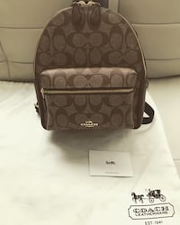 Brand New Authentic Coach Small Backpack  Toronto, M1P 4P5