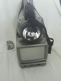 8 ins TV and adjustable fluorescent lamp.  Severn, 21144