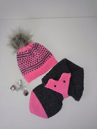 Toddler Fox Scarf and Hat Set