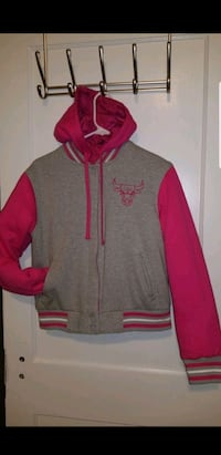 Chicago Bulls reversible coat size Large