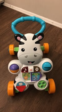 Fisher-Price Learn With Me Zebra Galloway, 08205