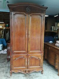 Cherry armoire with drawers underneath Rockford, 61103