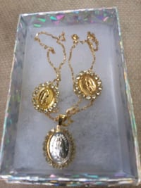 BEAUTIFUL SET NECKLACES AND EARRINGS BRAZILIAN GOL North Las Vegas, 89030