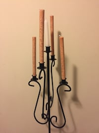 Beautiful 5 candle holder  stand.