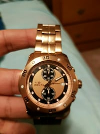 Invicta Signature II rose gold watch Calgary