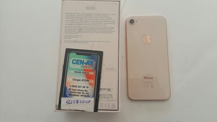 IPHONE 8 64 GB GOLD RENK  d0990b4b-6f5c-447b-a035-4bfe1860f700