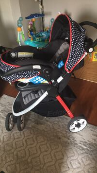 Safety 1st Edge Stroller And Detachable Car seat Cambridge, N1R 3N2