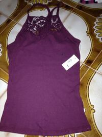 Brand new size small Aeropostale tank. Lace top. Paid 20. Look for more on my page Islip, 11751