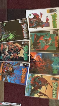 Spawn comics.  [TL_HIDDEN] 8,29 Beaverton, 97005