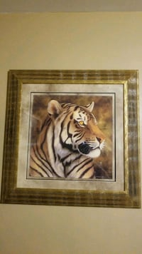Andrew Bone Giclee Tiger Portrait