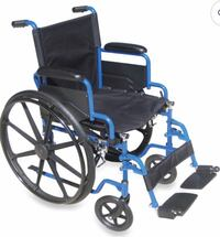 Black and blue wheel chair Woodbridge, 22191