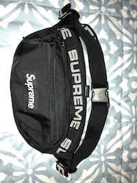 black and white Adidas backpack Los Angeles, 91405