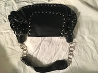 Black studded purse Wadsworth, 44281