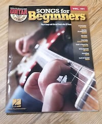Beginner Guitar Lessons Book with teaching CD - New! Gainesville, 20155