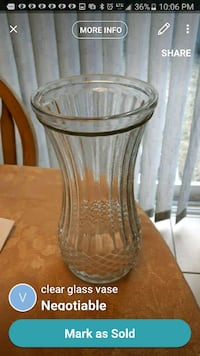 clear glass vase with lid Mississauga, L5M 6L4