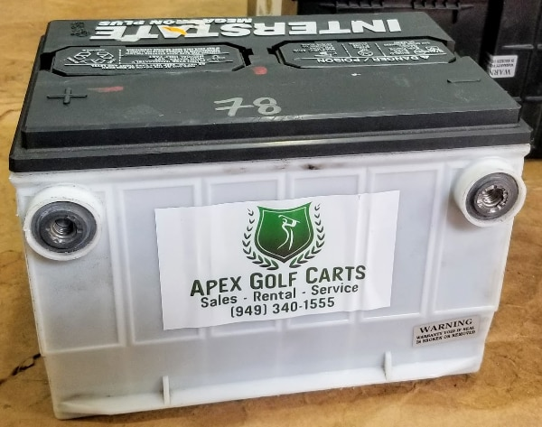 USED Car Battery Group 78 Starting Batteries