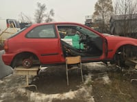 red 3-door hatchback 1002 km