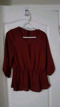 red long-sleeved shirt Mississauga, L5L 1R3